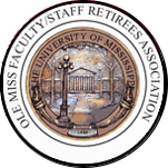 Bronze medallion for Ole Miss Faculty/Staff Retirees Association