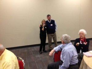 Brenda Brannon and Dr. Stocks